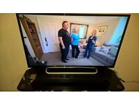 Sony 40inch Full HD TV and Soundstage
