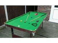 Snooker Table - Pot Black