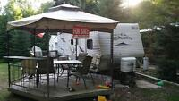 2009 Jayco G2 31' BHDS trailer in excellent condition