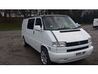 2001 vw transporter t4 lwb 2.5tdi work rest play bus
