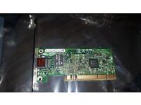 An Intel Pro / 1000 GT PCI Gigabit Network Adapter