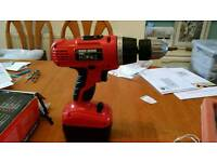 Power drill - Black and decker 14.4v