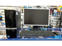 HP Pro small factor, Intel Core i3 3.20 GHz, 4GB RAM, 320GB HDD, Intel Graphic, Windows 10 PRO, HDMI