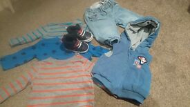 Baby boy 0-3m bundle