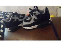 baby air max size 3.5 worn once
