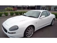 Maserati 3200 GT automatic ferrari engine white
