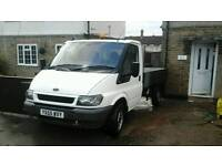 Ford transit (mwb) drop side lorry (2006) 55 plate