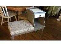 Refurbished telephone table