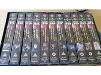 Babylon 5 Season 2 - The coming of the shadows - VHS Tapes