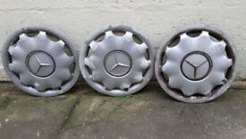 Mercedes 15 wheel rims. Not new but functional order.