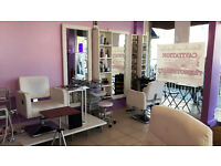 Wonderful fully fitted license hair and beauty salon in Kilburn, available now!!!