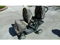 Double graco buggy