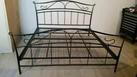Metal Super Kingsize Bed Frame
