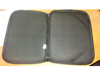 Black padded Tablet Case/protective cover