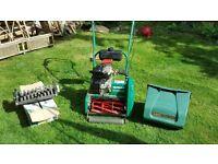 "Petrol lawnmower - qualcast classic petrol 35S (14"")"