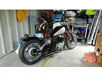 Honda rebel bobber 250cc only 4k miles!