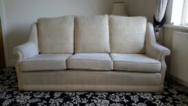 2 and 3 seater Bridgecraft sofas in exellent condition. Can be sold separately if required.
