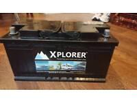 Leisure battery for camper van