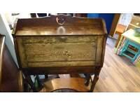Antique wooden bureau