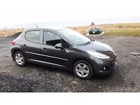 Metalic Grey Peugeot 207 Limited Edition