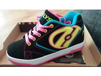 HEELYS x2 pairs new size 1 and 3