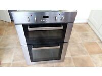 Cheap electric in-built double oven