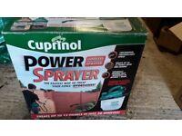 Cuprinol power sprayer used once