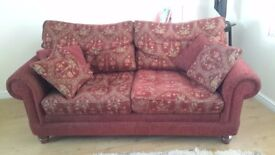 Cheap Red two Seater Sofa