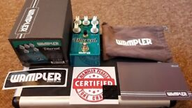 Wampler Ethereal Delay & Reverb effects pedal (Mint condition, barely used) FREE UK DELIVERY