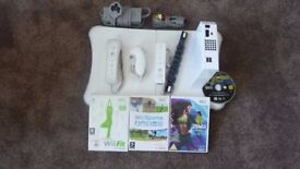 Wii consul and extras