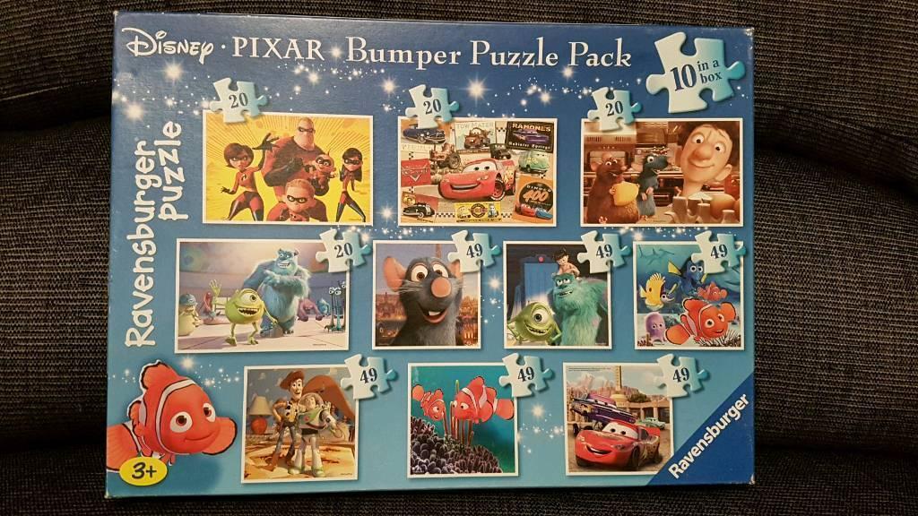 Disney Pixar bumper puzzle pack