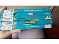 Nintendo Wii U black edition with 6 games ALL ORIGINAL PERFECT