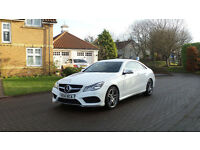 2014 14 MERCEDES-BENZ E CLASS 2.1 E250 CDI AMG SPORT 2d AUTO *FSH*PART EX WELCOME*FINANCE AVAILABLE