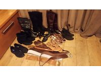 Size 6 - boots, heels, sandles, trainers, belts