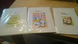 3 homemade birthday cards 1.50