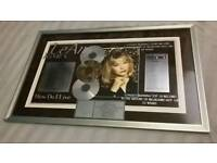 LeAnn Rimes How Do I Live RIAA Award