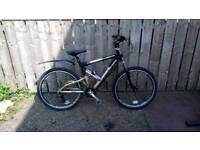 Viking targa full suspension mountain bike