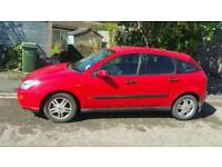 Ford Focus 1.8l petrol. 68000 miles, no mot, relisted due to timewasters