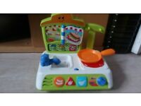 Babys Childrens Little Cooker Kitchen Toy with melodies and sounds
