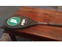 prince SupremeTi squash racquet used,