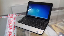 "Excellent dell inspiron mini 10-10.1""-intel atom-1.6ghz-160gb hdd 1gb ram-windows7-webcam-laptop"