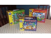 Childrens jigsaw collection