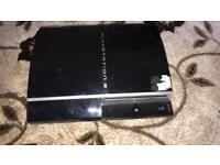PS3 PlayStation 3 with 8 games and 2 pads