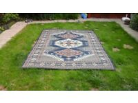 Rug - used, in good condition. 273 x 190cms