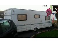 Lunar 4 berth caravan fixed bed priced to sell