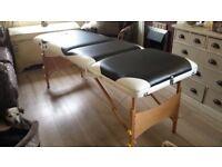 Massage/therapist table.
