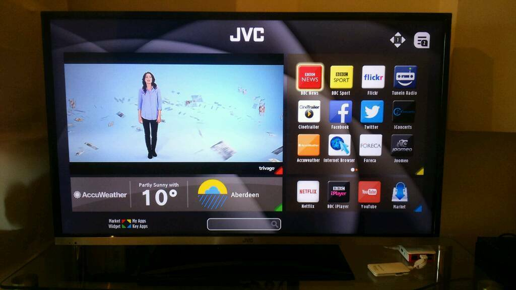 how to use jvc smart tv