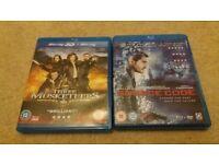 Blu Ray DVDs x2