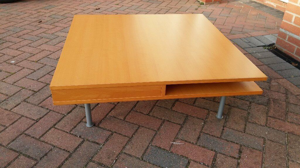 Immaculate square coffee table