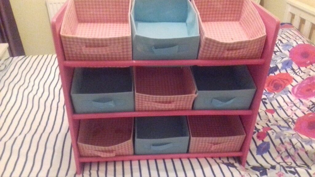 childrens storage shelving